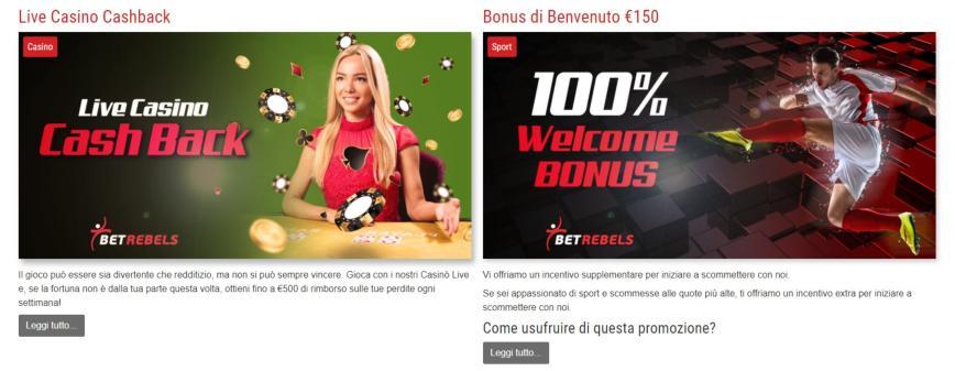 Betrebels Bonus