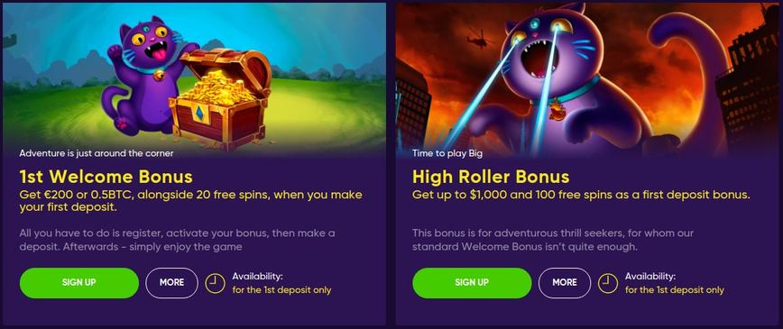 Bao Casino bonus di benvenuto
