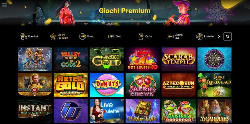 Tutti i giochi disponibili su Zet Casino